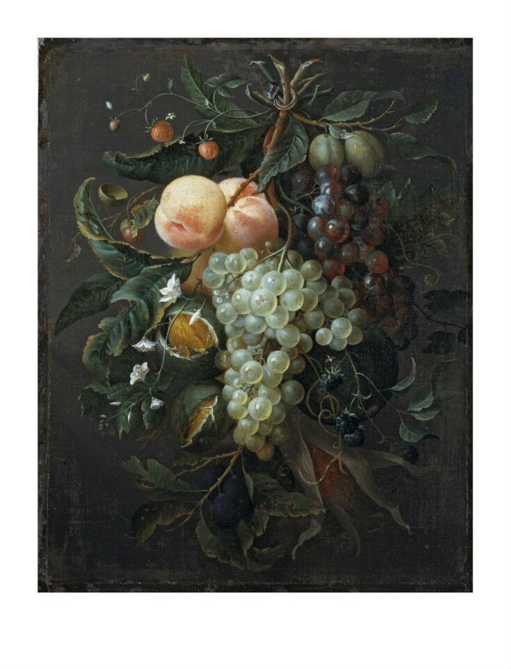 Festoon with Fruit, Corn, Nuts and Flowers top image
