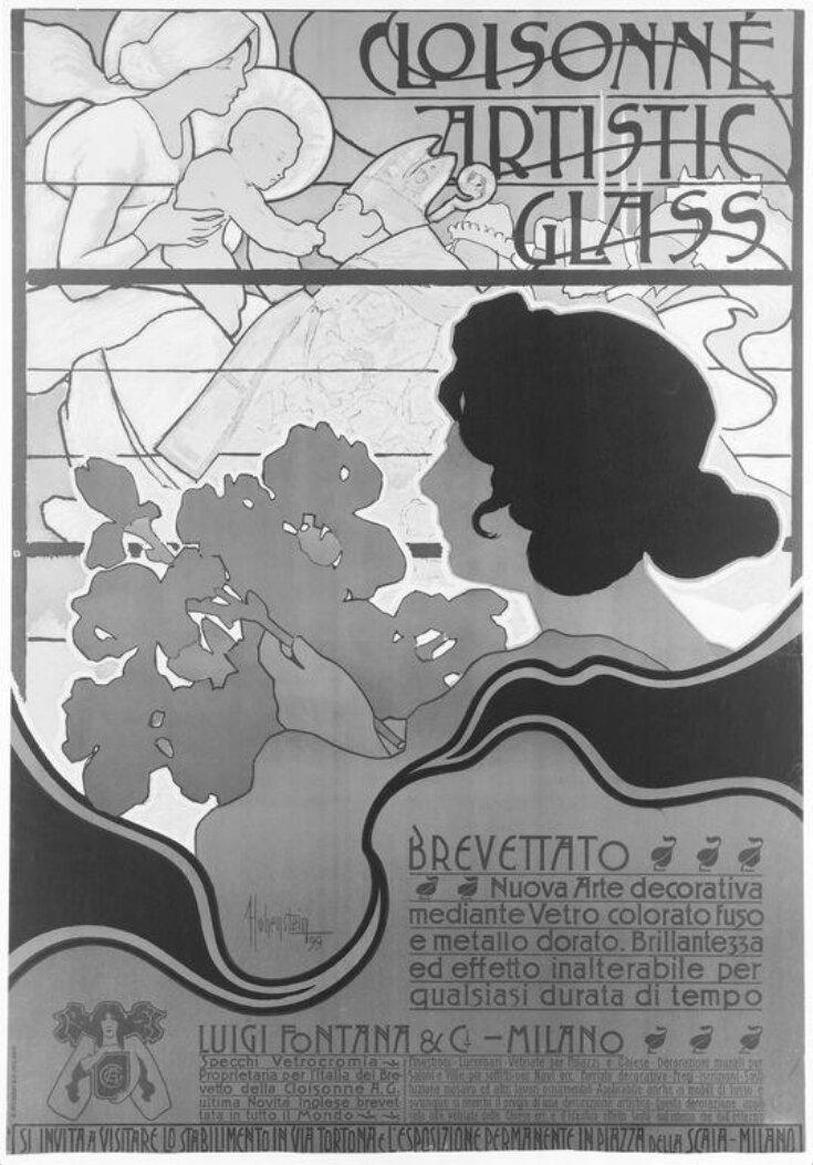 Cloisonné Artistic Glass top image