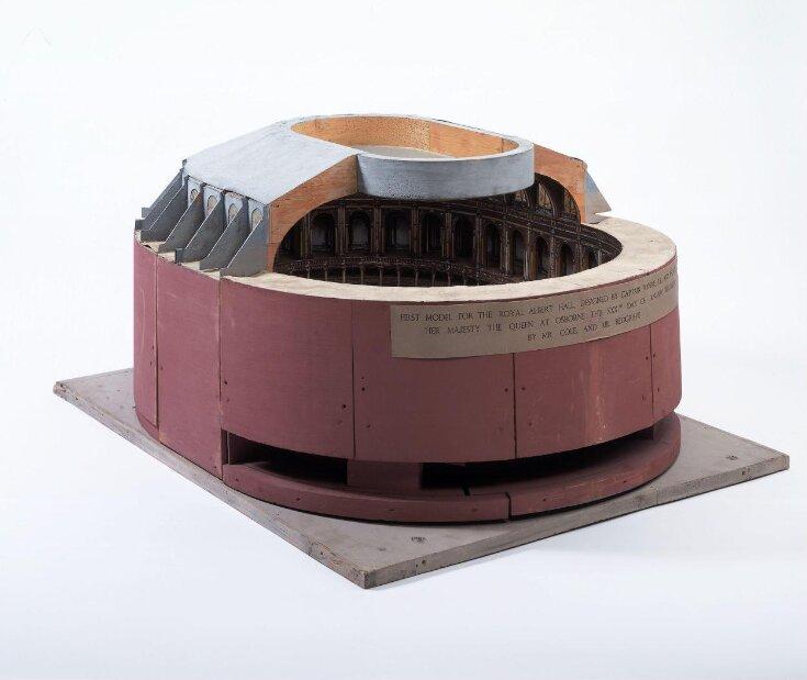 Model of the Albert Hall top image