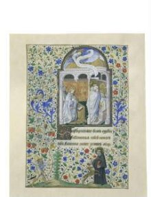 Leaf from a Book of Hours thumbnail 1