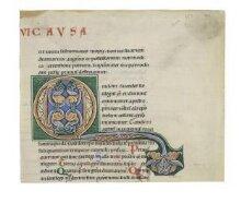Initial from Gratian's Decretum thumbnail 1