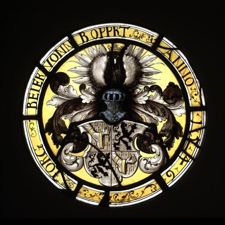 Arms of Jorg Beier von Boppard top image