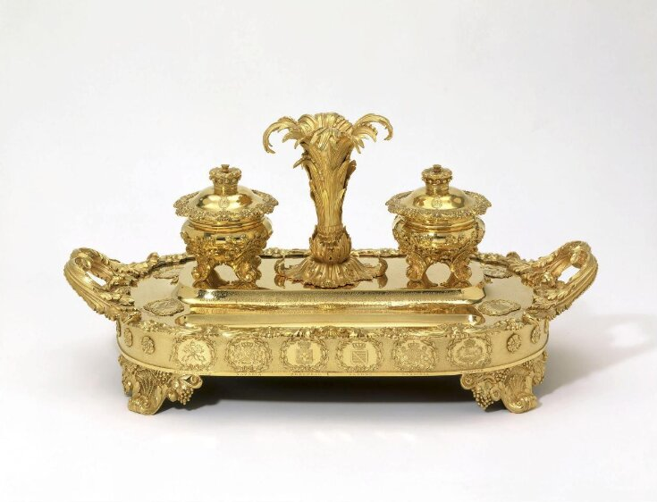 The Castlereagh Inkstand top image