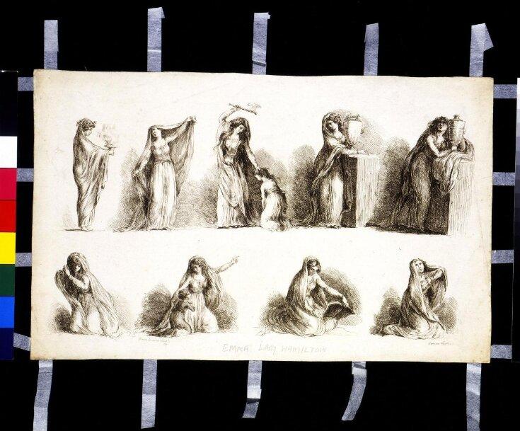 The Attitudes of Lady Hamilton top image