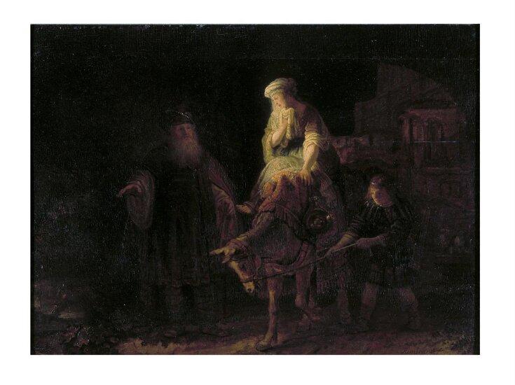 Abraham dismissing Hagar and Ishmael top image