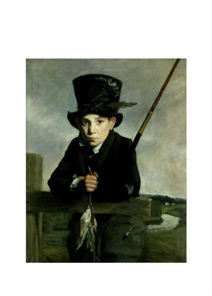 Portrait of a Boy in a Top Hat top image