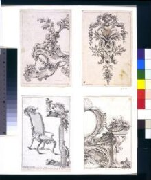 Sixty Different Sorts of  Ornaments Invented by Gaetano Brunetti  Italian Painter.  Very Usefull to Painters,  Sculptors, Stone-Carvers, Wood-Carvers,  Silversmiths &c. thumbnail 1