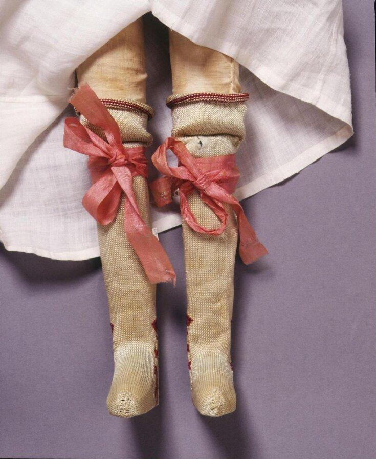 Pair of Doll's Garters top image