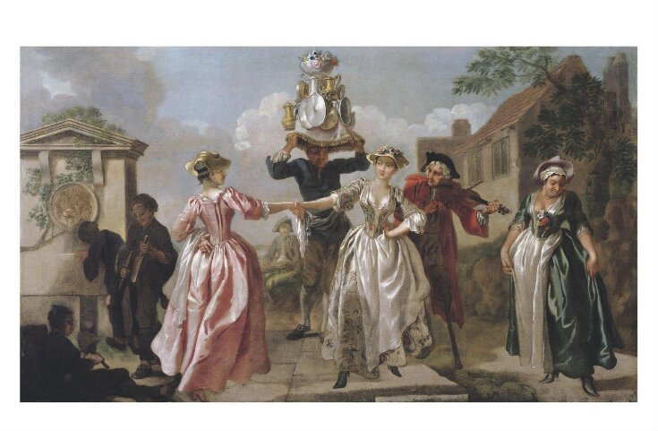 The Milkmaid's Garland, or Humours of May Day top image