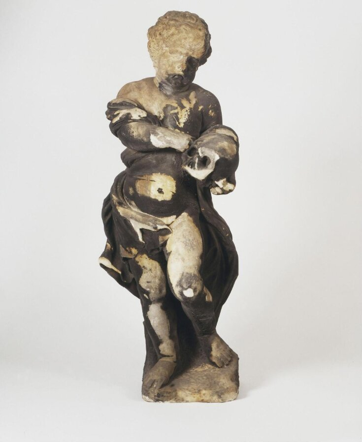 Putto with skull top image