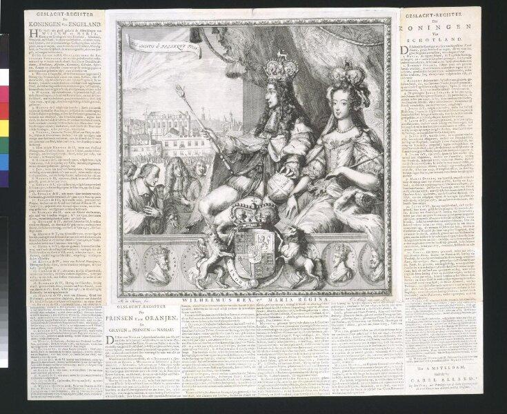 Coronation of William III and Queen Mary II top image