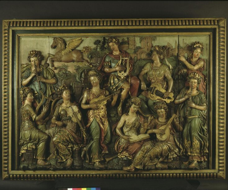 Apollo and the Nine Muses top image