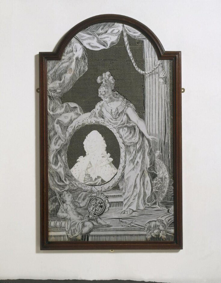 Britannia mourning Frederick, Prince of Wales top image