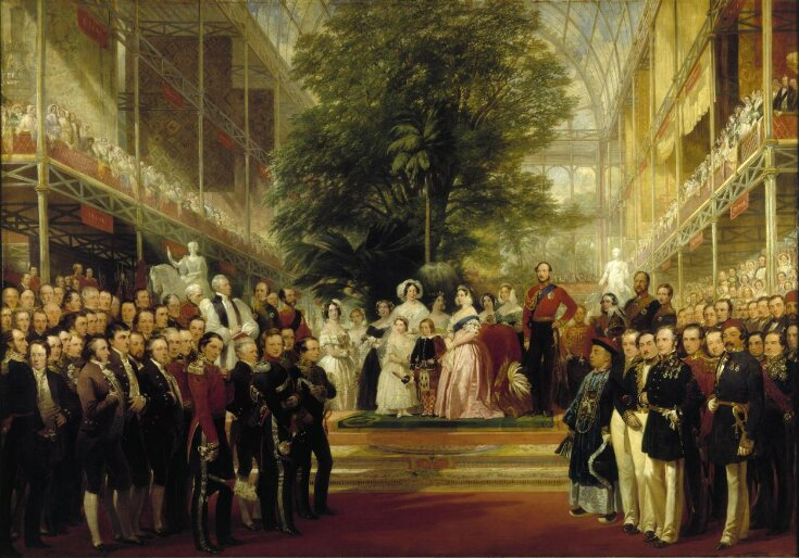 The Opening of the Great Exhibition by Queen Victoria on 1 May 1851 top image