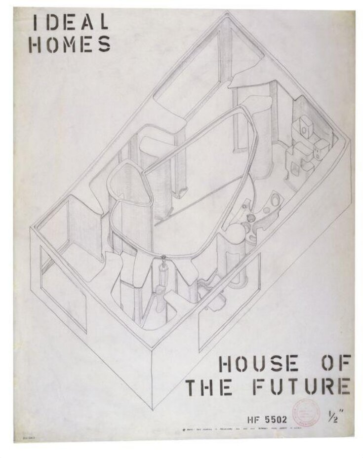 Architectural drawing for 'House of the Future' top image