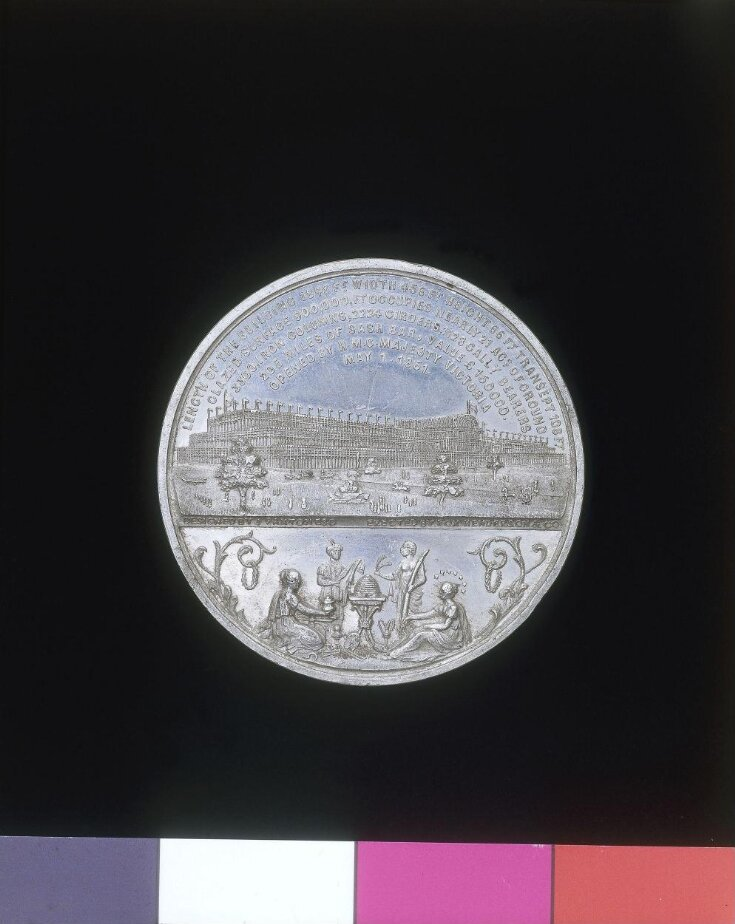 Great Exhibition Medal top image