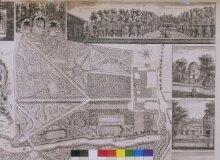 Plan du Jardin & Vue des Maisons de Chiswick thumbnail 1