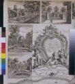 Plan du Jardin & Vue des Maisons de Chiswick thumbnail 2