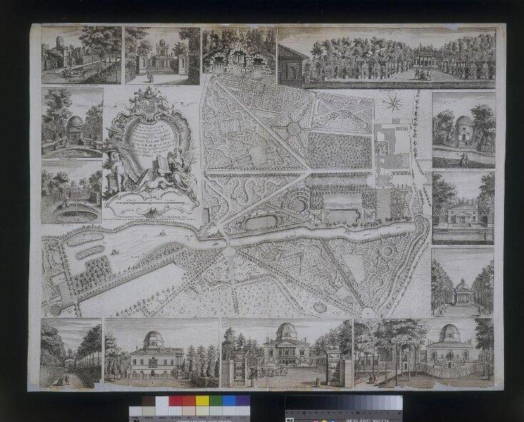Plan du Jardin & Vue des Maisons de Chiswick top image