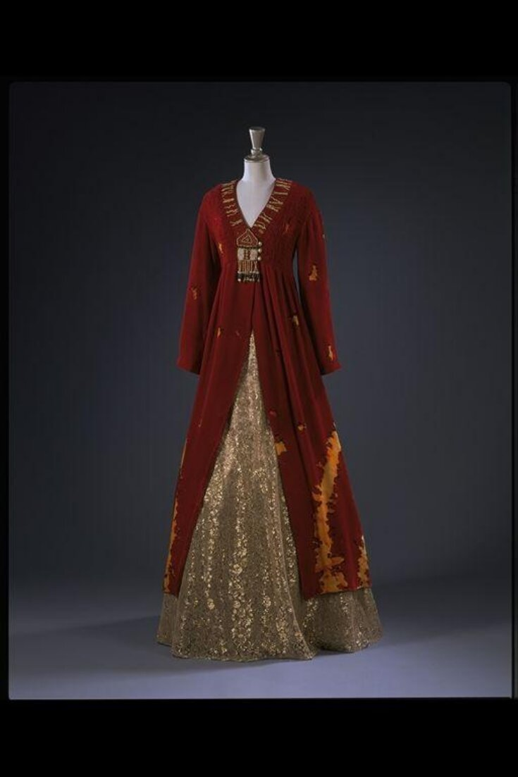 Evening Dress With Skirt top image