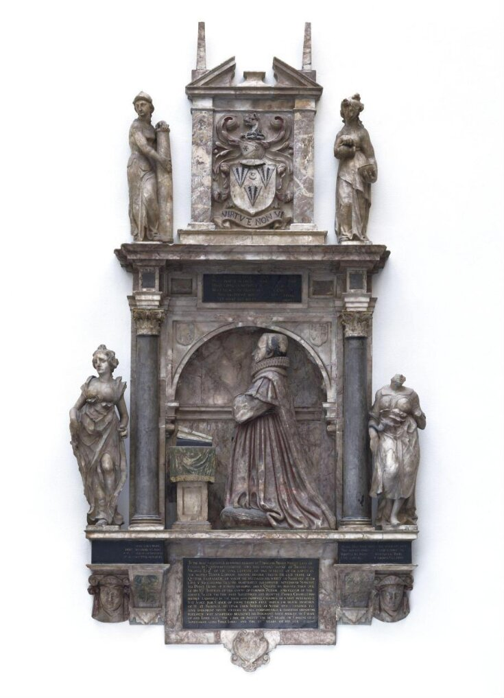 Monument to Sir Augustine Nicolls top image