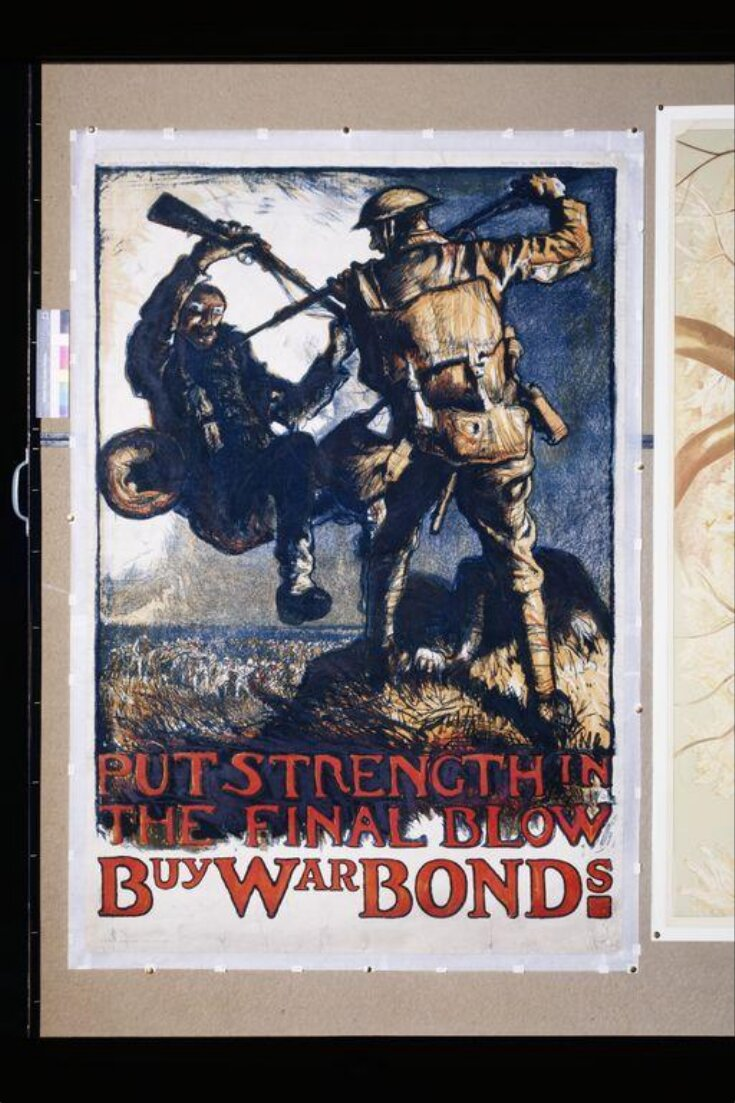 Put Strength in the Final Blow. Buy War Bonds top image