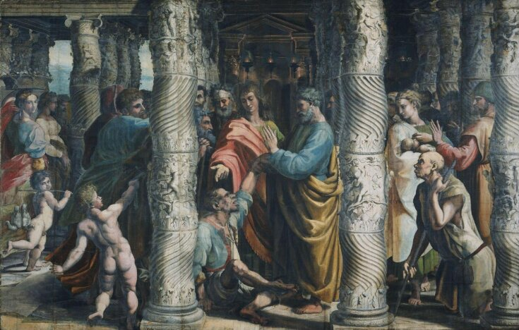 The Healing of the Lame Man (Acts 3: 1-8) top image