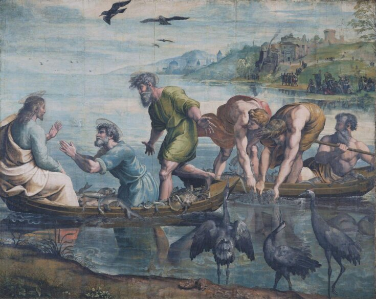 The Miraculous Draught of Fishes (Luke 5: 1-11) top image