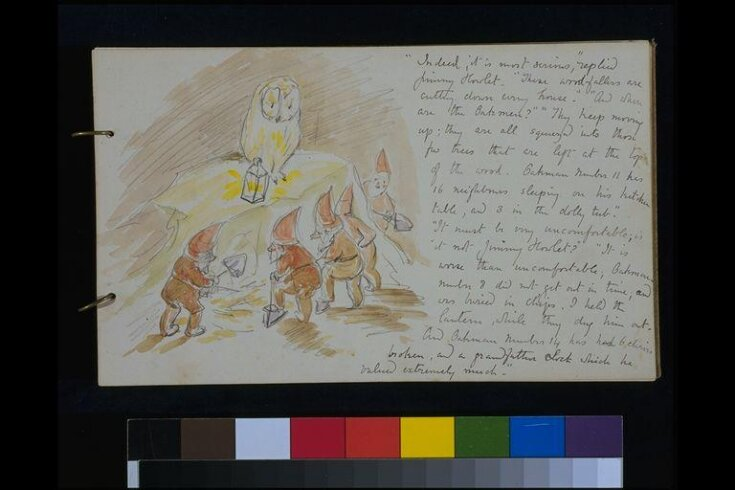 Illustrated letter to Nancy Nicholson top image