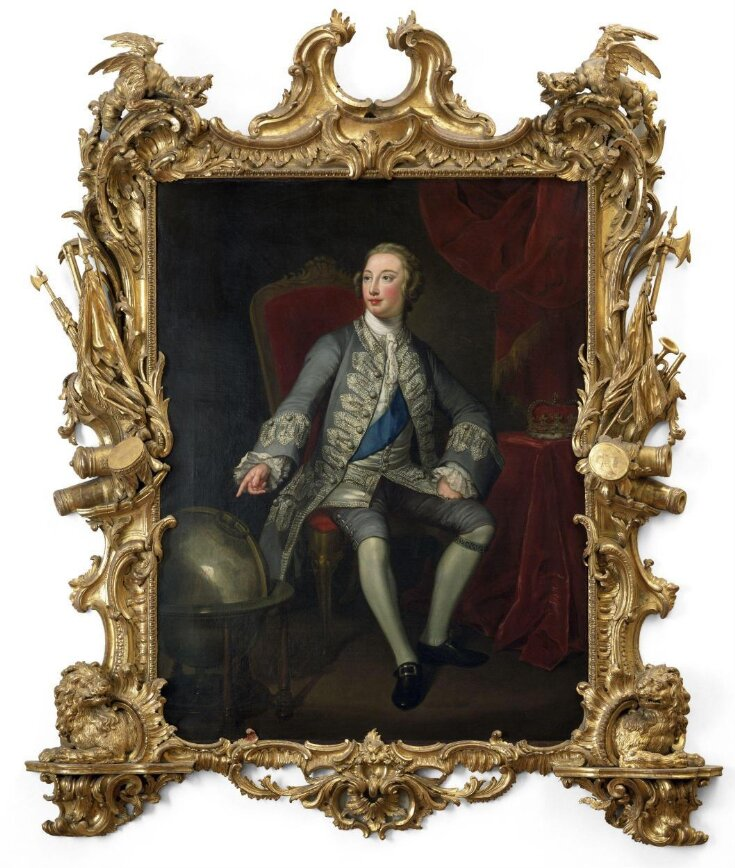 George III when Prince of Wales top image