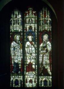 Prophet Ezekiel flanked by Saints John the Evangelist and James the Less thumbnail 1