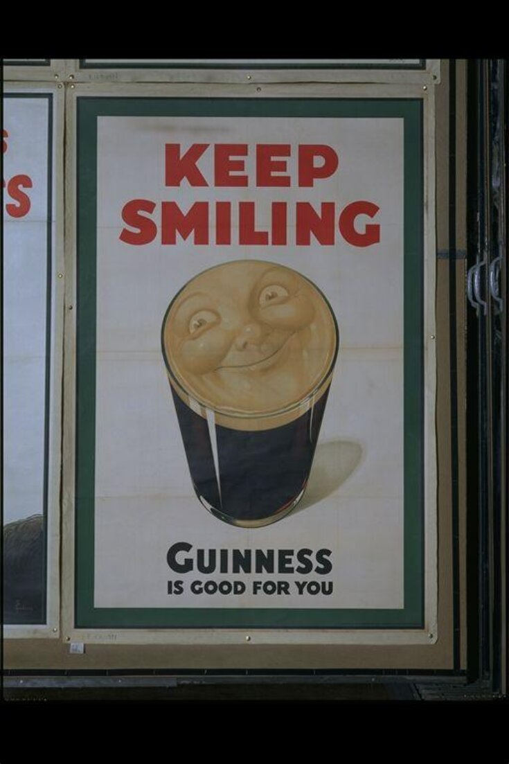 Keep Smiling. Guinness Is Good For You top image