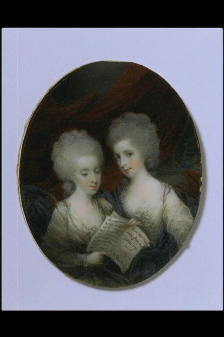 Misses Annabella and Mary Craufurd (mistakenly Crawford), afterwards Countess Lockhart and Mrs Palmer top image