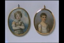 Unknown boy, perhaps Sir Frederick Augustus D'Este (1794-1848) thumbnail 1