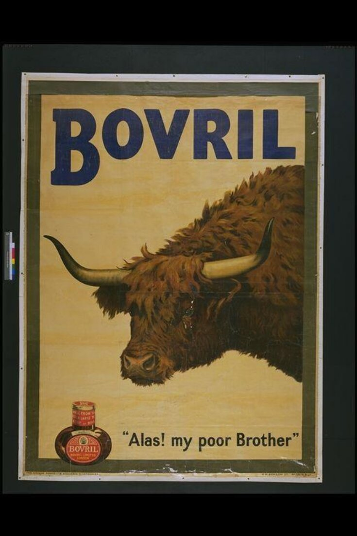 """Bovril. """"Alas! my poor Brother"""" top image"""