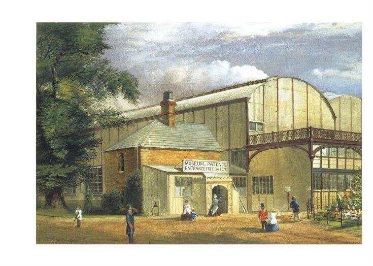 South Kensington Museum: South End of Iron Building top image