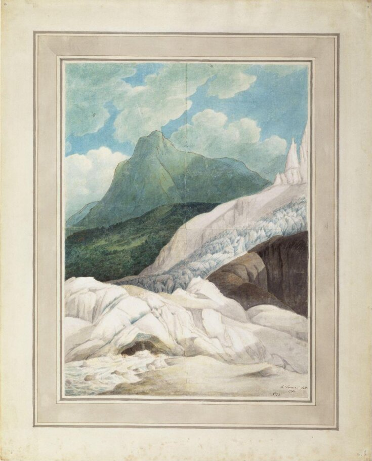 The Source of the Arveiron, with Mont Blanc in the Background top image