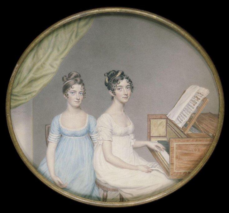 Miss Harriet and Miss Elizabeth Binney top image