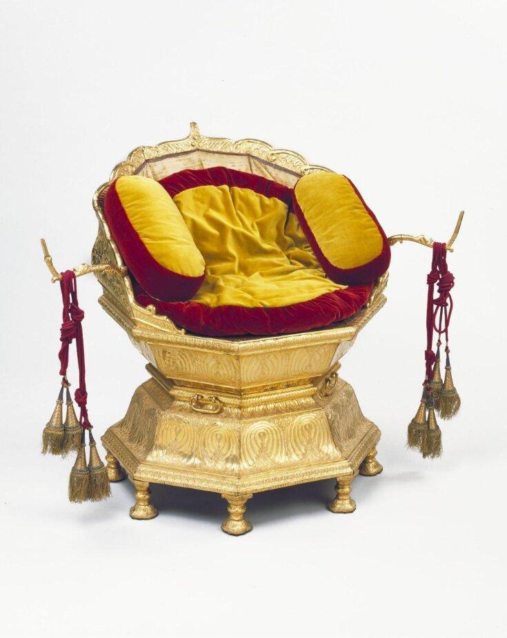 Maharaja Ranjit Singh's throne top image