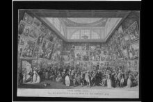 The Exhibition of the Royal Academy, 1787 thumbnail 1