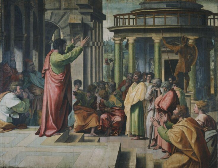 Paul Preaching at Athens (Acts 17: 16-34) top image