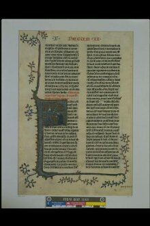 Leaf from the Hastière Bible thumbnail 1