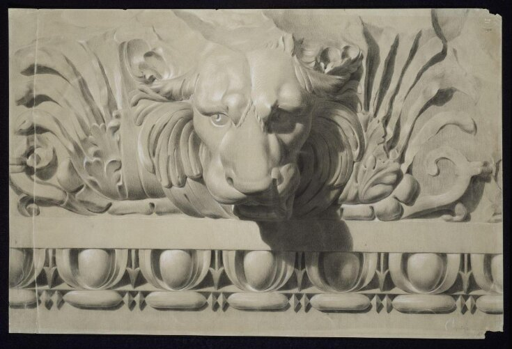 Study of ornament from the cast top image