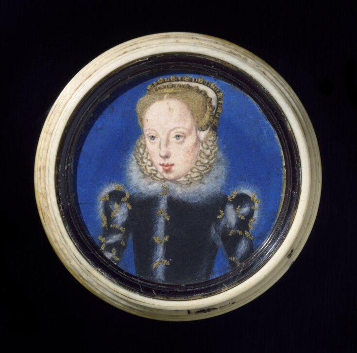 Portrait miniature of Katherine Grey, Countess of Herford top image