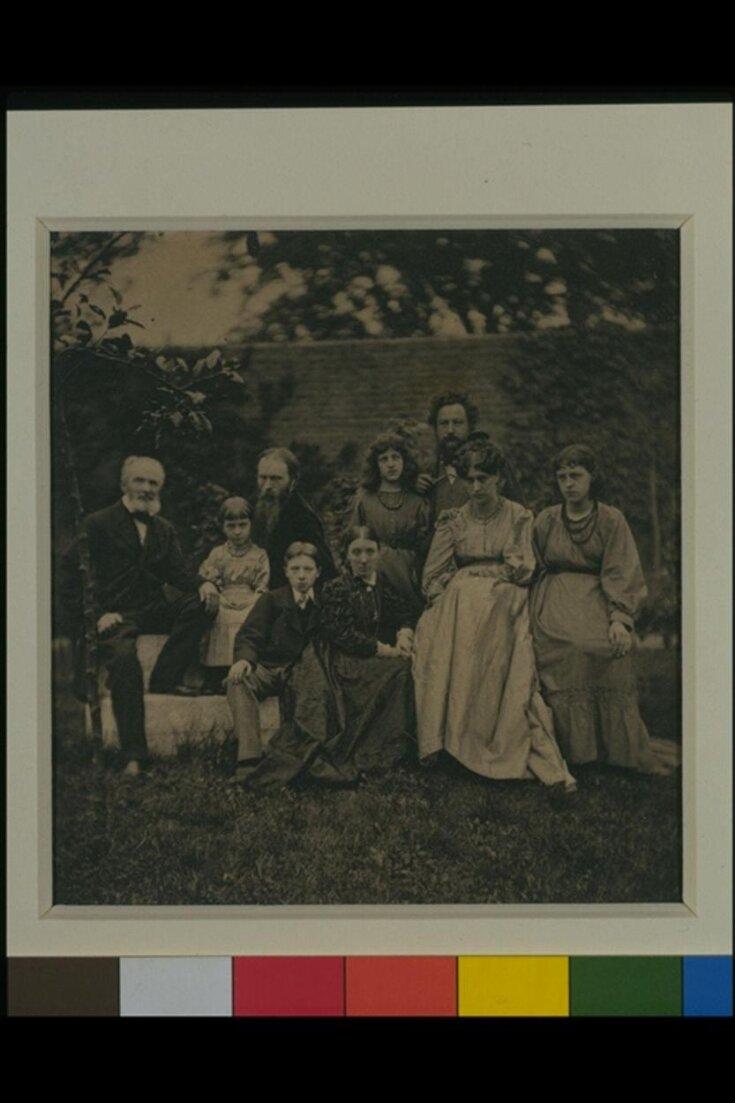 The Morris and Burne-Jones families top image