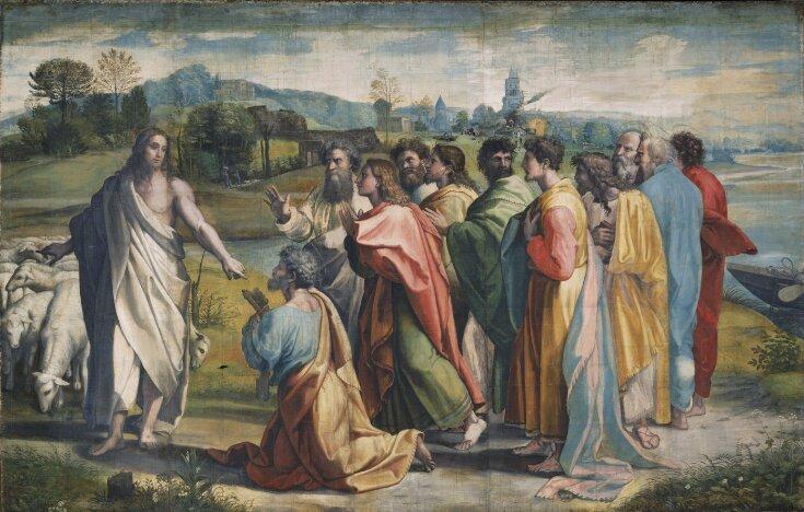 Christ's Charge to Peter (Matthew 16: 18-19, John 21: 15-17) top image