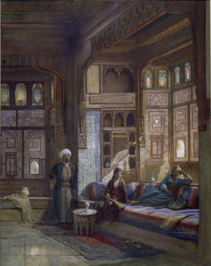 A room in the house of Shayk Sadat, Cairo top image