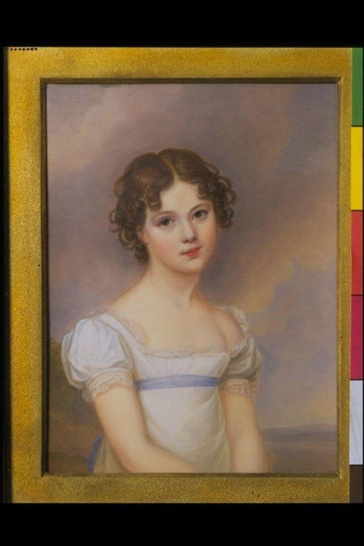 Portrait miniature of Sophia Westlake Arundell top image