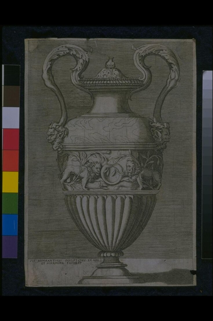 Vase with two handles top image
