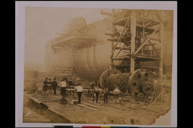 The Great Eastern under Construction top image